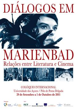 Cartaz - Diálogos em Marienbad: Relações entre Literatura e Cinema