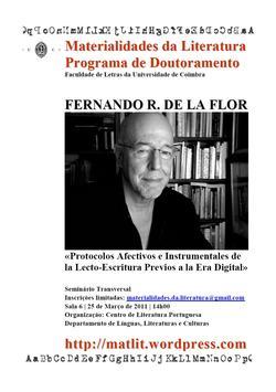 Cartaz - Fernando Rodríguez de la Flor