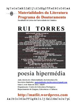 Cartaz - Rui Torres