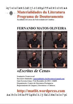 Cartaz - Fernando Matos Oliveira