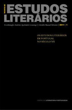 Capa - Revista de Estudos Literários Volume 1