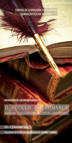 Cartaz - O Século do Romance: Realismo e Naturalismo na Ficção Oitocentista