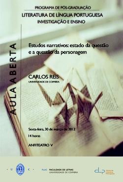 Cartaz - Carlos Reis