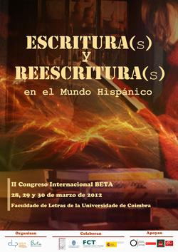 Cartaz - Escrituras y Reescrituras