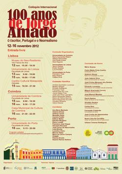 Cartaz - 100 Anos de Jorge Amado
