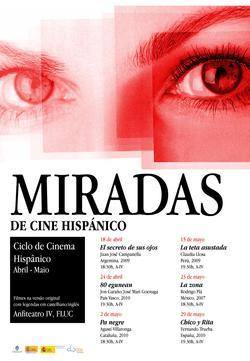 Cartaz - Miradas de Cine Hispánico