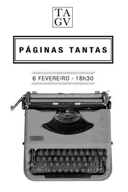 Cartaz - Páginas Tantas 02: Duarte Belo