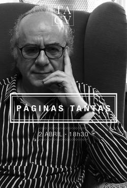 Cartaz - Páginas Tantas 04: Boaventura de Sousa Santos
