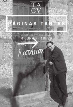 Cartaz - Páginas Tantas 06: Álvaro Domingues