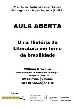 Cartaz - Uma História da Literatura em torno da brasilidade
