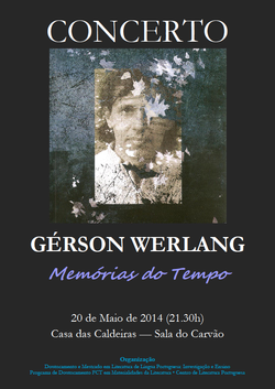 Cartaz - Gérson Werlang em concerto
