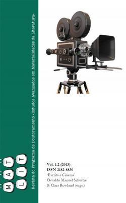 Cartaz - Escrita e Cinema