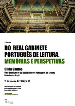Cartaz- Do Real Gabinete Português de Leitura