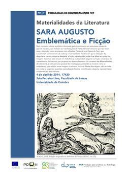 Cartaz - Seminário Transversal, por Sara Augusto