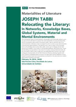 Seminário Transversal | Joseph Tabbi