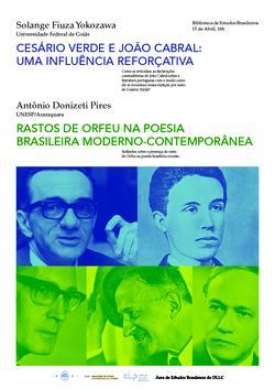 Cartaz - Aspectos da poesia brasileira moderna e contemporânea