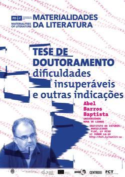 Cartaz_Abel Barros Baptista