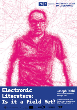 Cartaz_Electronic Literature: Is it a Field Yet