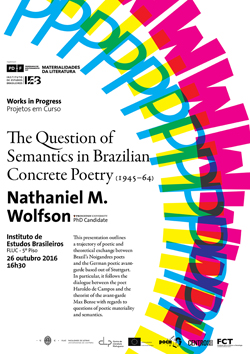 Cartaz_The Question of Semantics in Brazilian Concrete Poetry