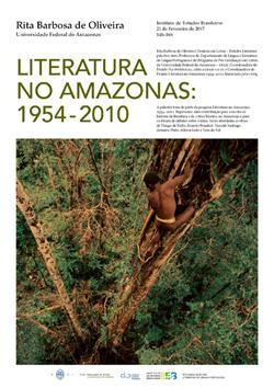 """Cartaz_Conferência """"Literatura no Amazonas: 1954-2010"""""""