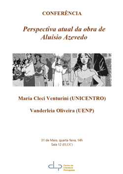 Cartaz_ Conferência Perspectiva atual da obra de Aluísio Azevedo