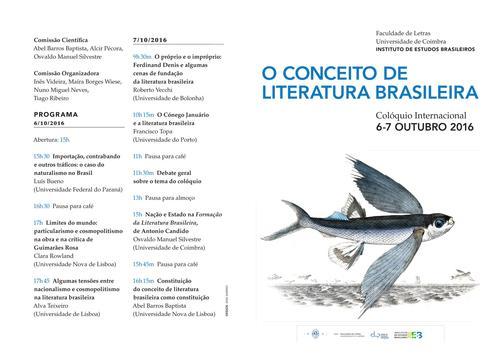 O Conceito de Literatura Brasileira