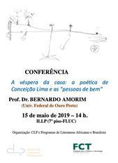 Conferência Bernardo Amorim