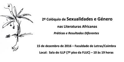 2.º Colóquio de Sexualidades e Género nas Literaturas Africanas