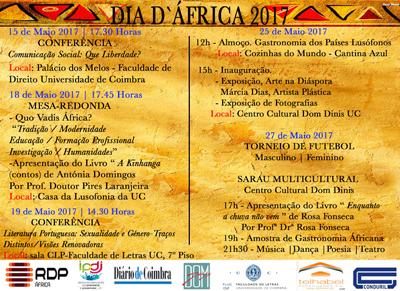 Dia D' África 2017 - cartaz
