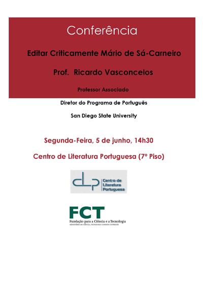 Conferência Ricardo Vasconcelos