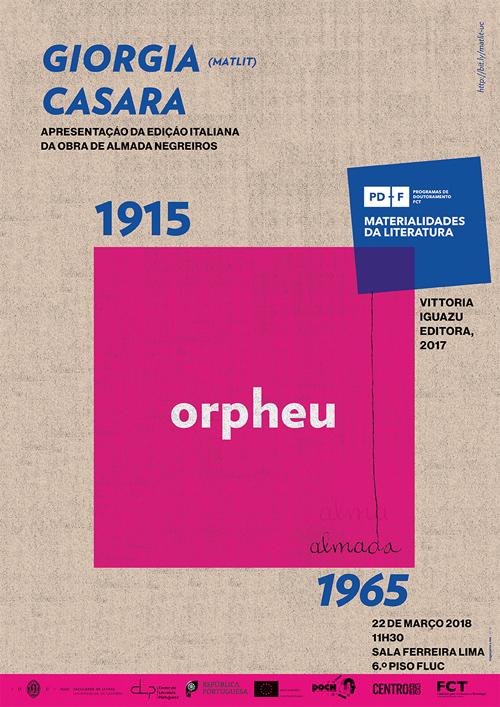 Edição italiana Orpheu