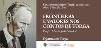 Ciclo Quartas no Torga — conferência de Maria João Simões