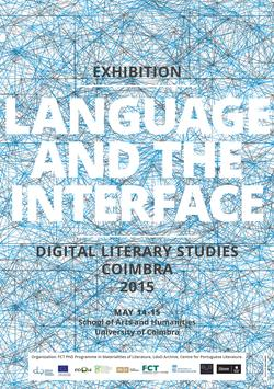 Cartaz - Language and the Interface 2015