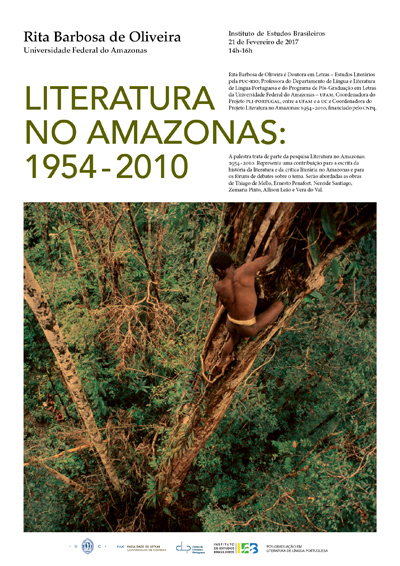 """Conferência """"Literatura no Amazonas: 1954-2010"""""""