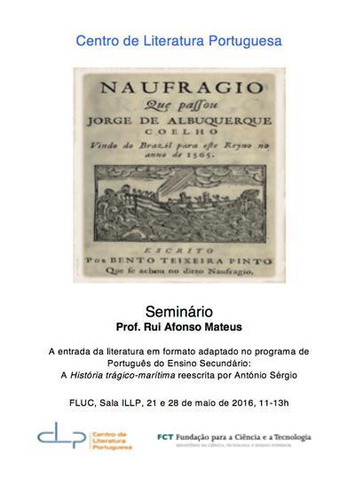 Seminário por Rui Afonso Mateus