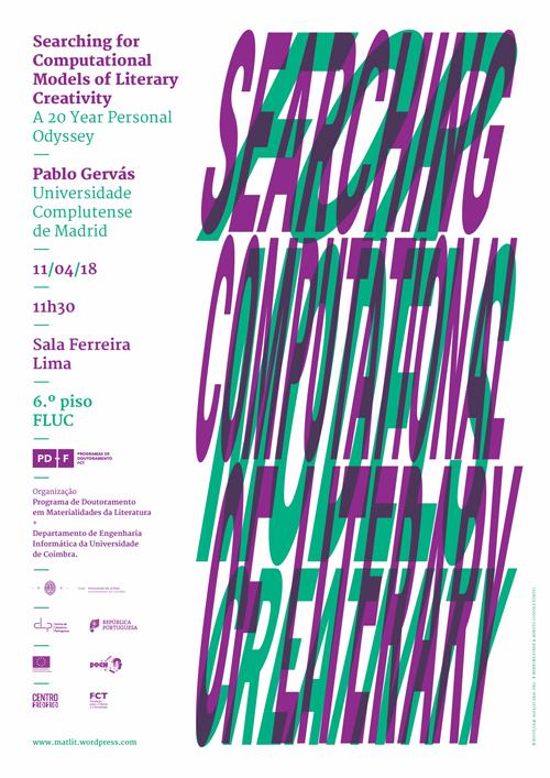 Conferência por Pablo Gervás