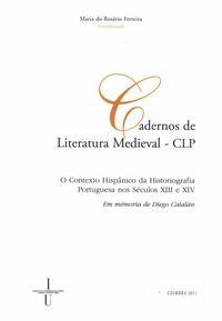 Capa - O Contexto Hispânico da Historiografia Portuguesa nos Séculos XIII e XIV