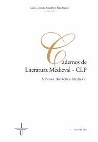 Capa - A Prosa Didáctica Medieval