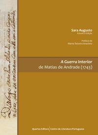 Capa - A Guerra Interior de Mathias de Andrade (1743)