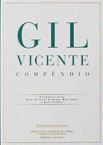 Capa - Gil Vicente Compêndio