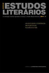 Capa - Revista de Estudos Literários Nº 1