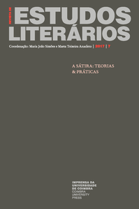 Capa - Revista de Estudos Literários Nº 7