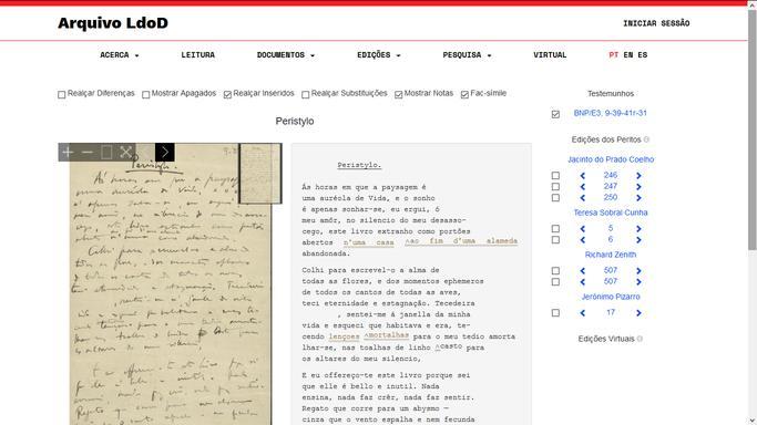 Arquivo LdoD_Screenshot