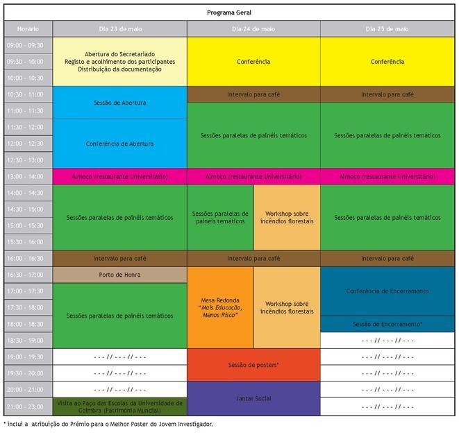 Programa Geral IV CIR