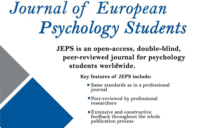 Journal of European Psychology Students