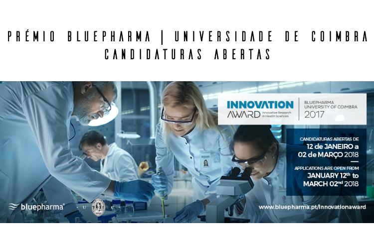 Prémio Bluepharma | Universidade de Coimbra 2018