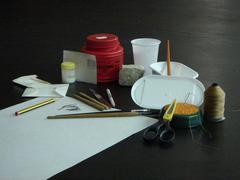 Montagem de material de herbário