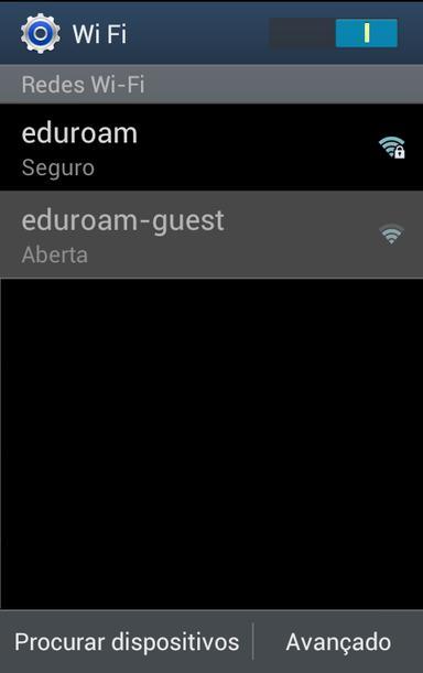 Seleção de Rede Sem Fios em Ambiente Android