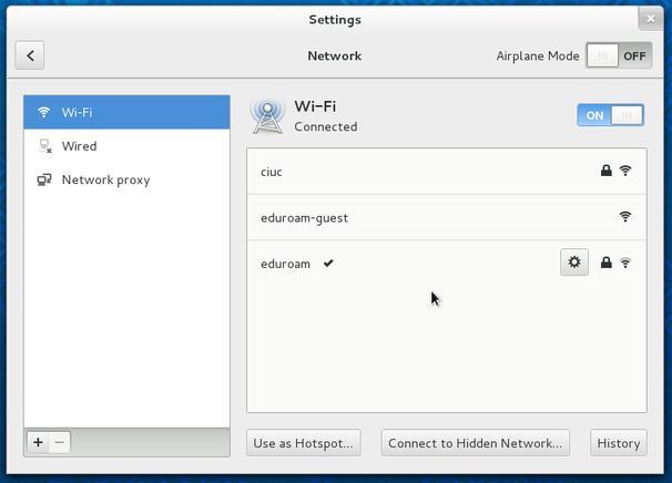 Configuração de Clientes Linux GUI - Ligação com Sucesso - Campus Virtual UC