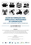 Acção de Formação para Jornalistas e Profissionais de Comunicação